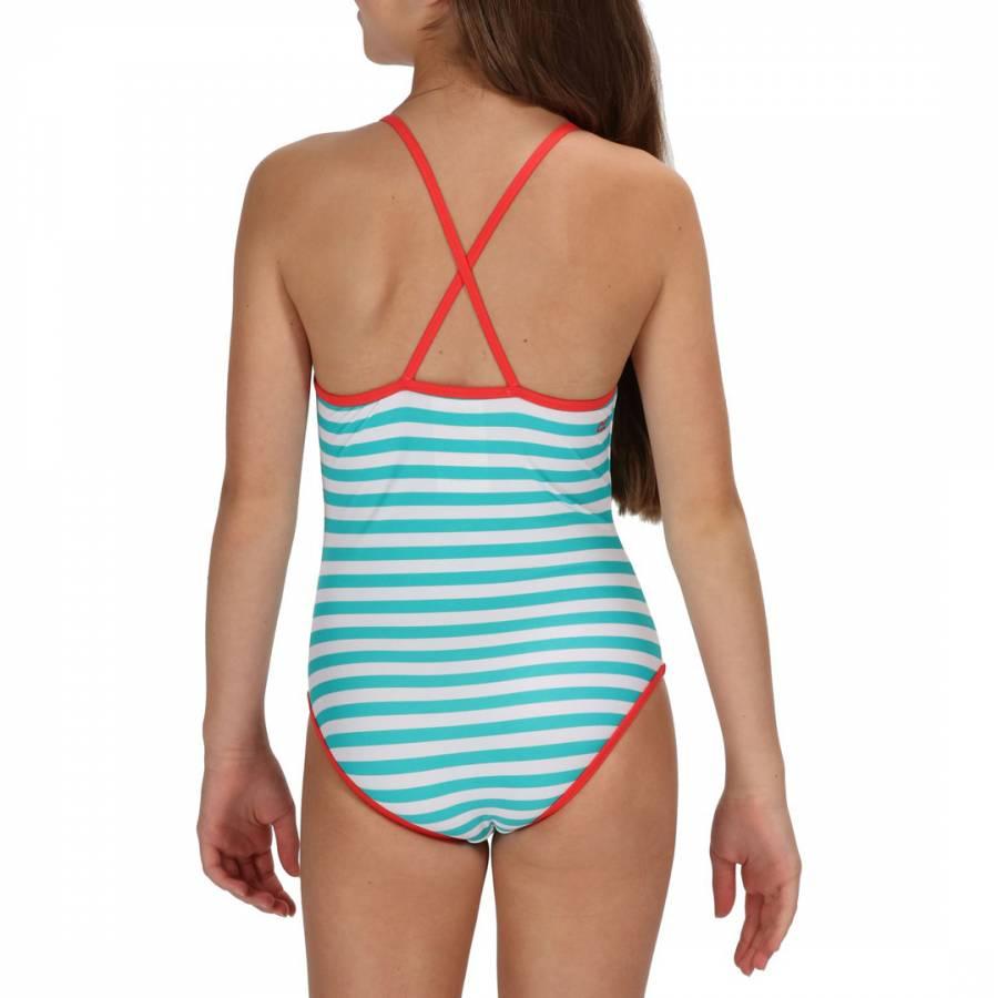 275d321446 Regatta Kids Ceramic Stripe Takisha Swimwear. prev