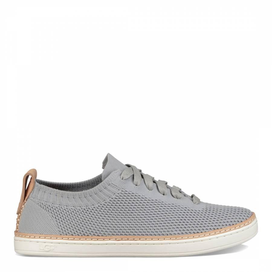 9ac7b77fe Light Grey Soft Knit Sidney Sneakers - BrandAlley