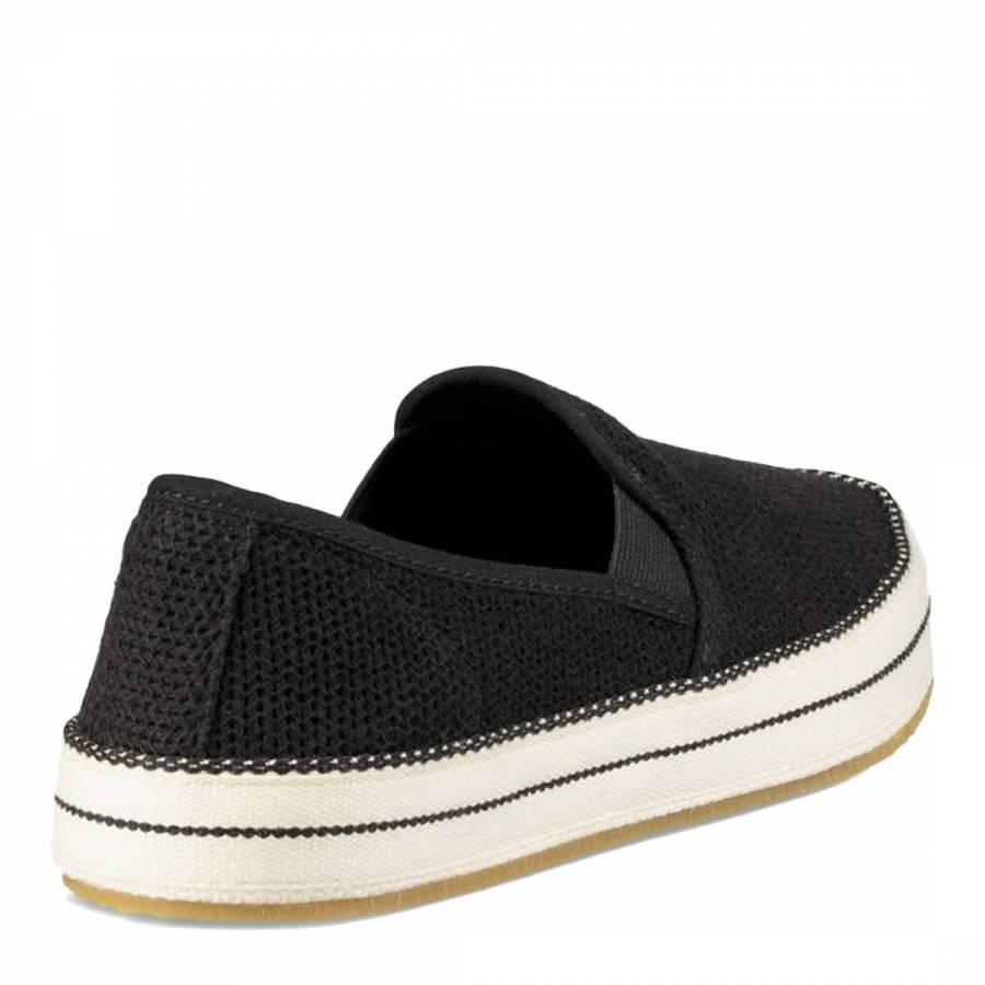 8e71ac33605 Black Mesh Bren Slip-Ons - BrandAlley