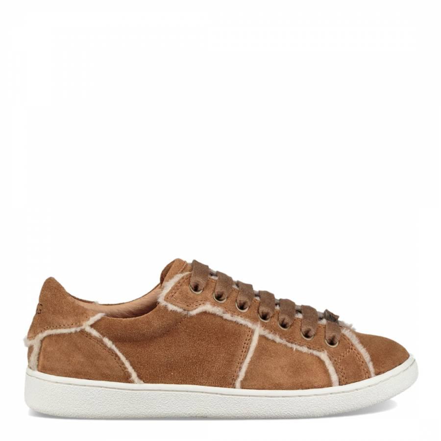 Chestnut Milo Spill Seam Sneaker