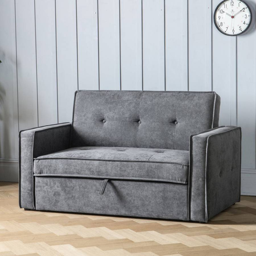 Amazing Gallery Vestra Sofa Bed Standard Small Double Mattress Dove Grey Squirreltailoven Fun Painted Chair Ideas Images Squirreltailovenorg