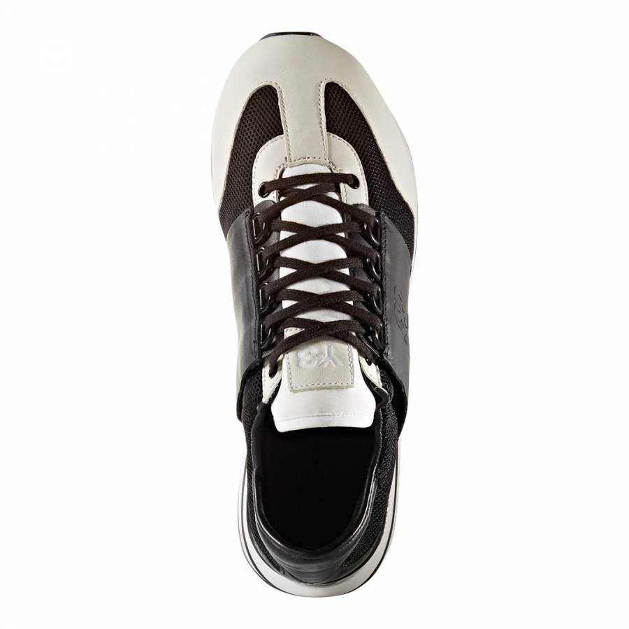 1cf2600dba81 Black   Cream Y-3 Rhita Sport Sneakers - BrandAlley