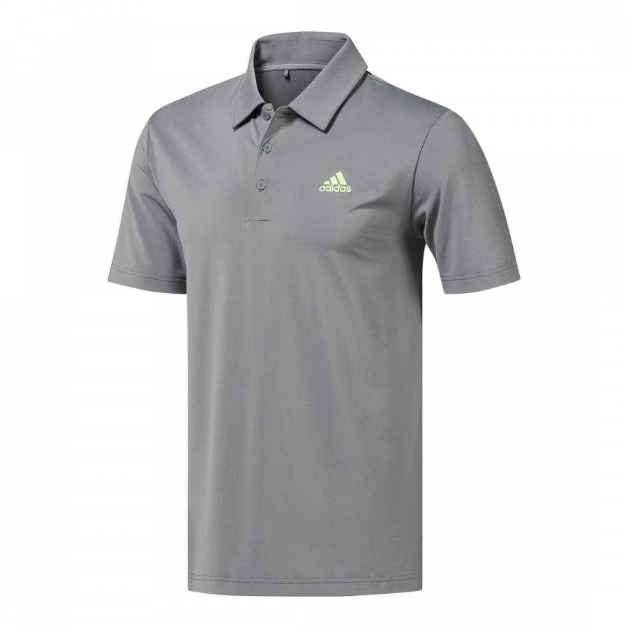 13e7d9037 Adidas Golf Grey Ultimate365 Solid Polo Shirt. prev. next. Zoom