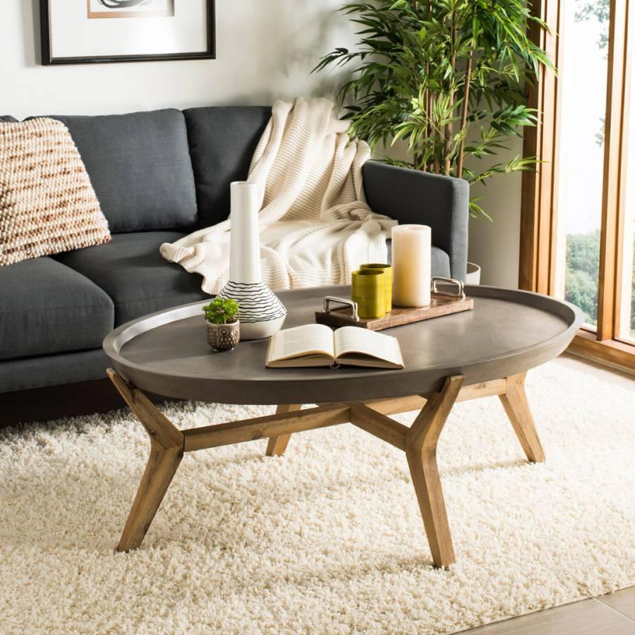 Merlin Concrete Coffee Table Brandalley