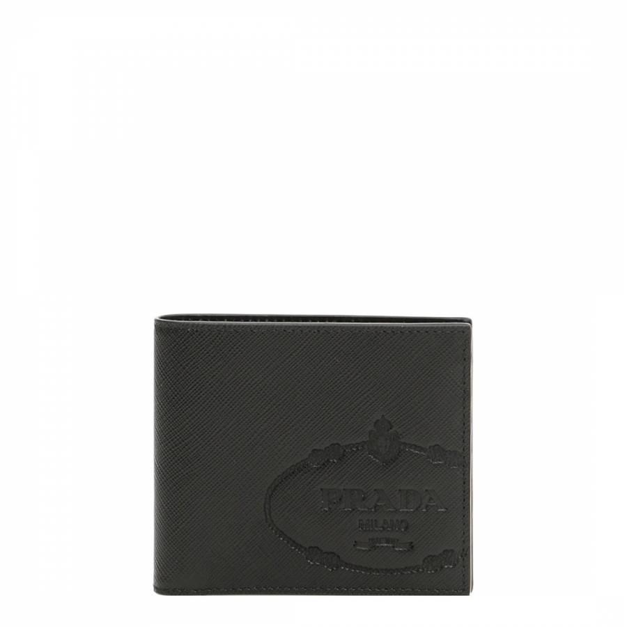 5d18de0c5cb8 Continue Shopping Checkout · Prada Black Saffiano Leather Wallet. prev.  next. Zoom