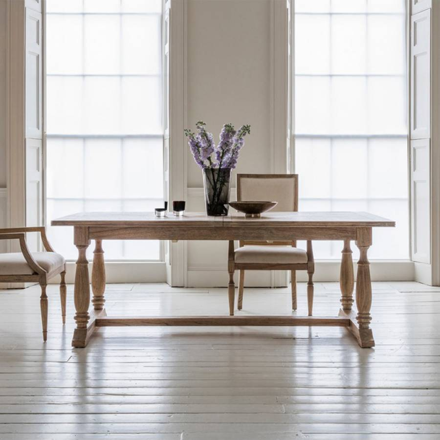 Mustique Rectangular Ext Dining Table And 4 Side Chairs