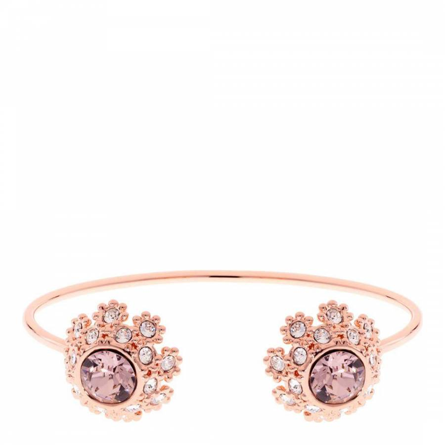 1fc1f7dce Pink  Silver Love You to the Moon and Back Charm Bangle - BrandAlley