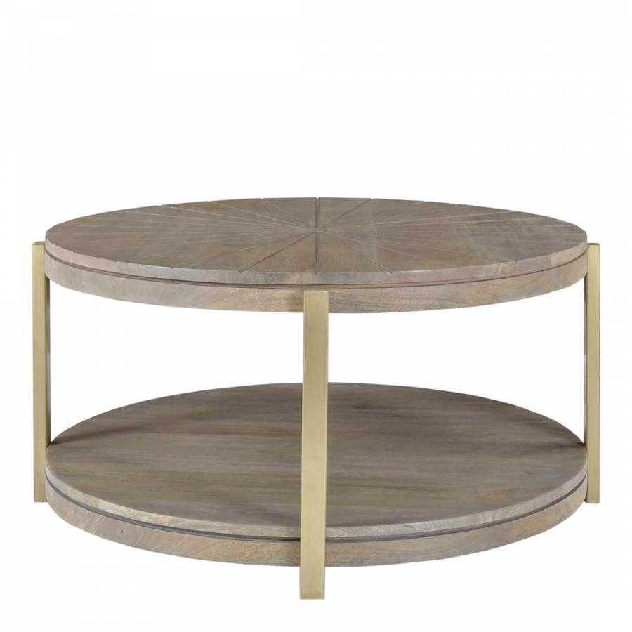 Smithson Large Round Coffee Table Brandalley