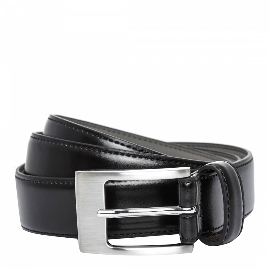 Black Leather Belt Brandalley