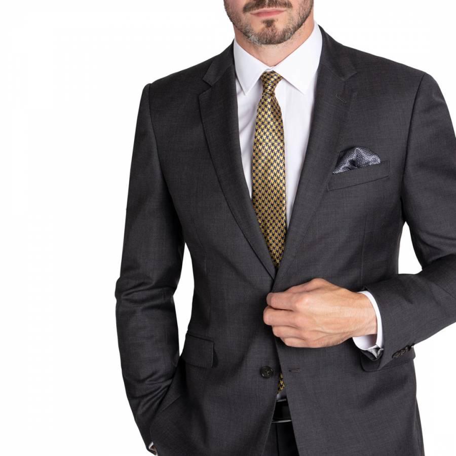 Grey Tailored Wool Jacket Brandalley