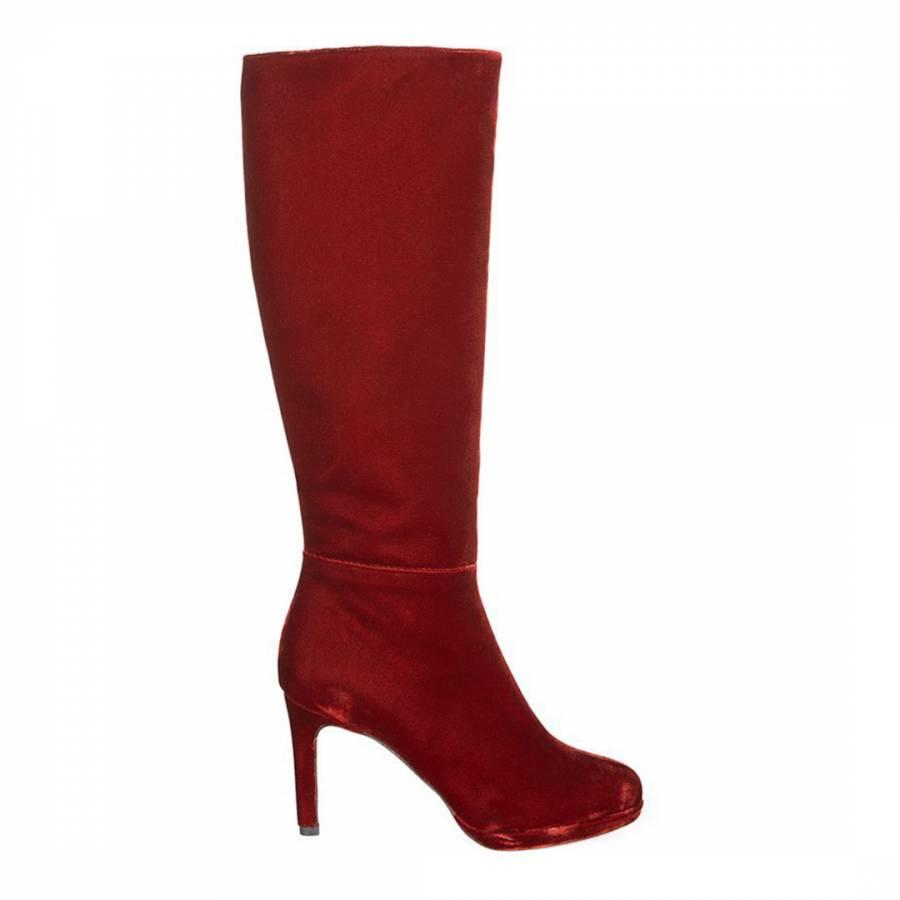 cea929516a8 Black Suede Elliot Boots - BrandAlley