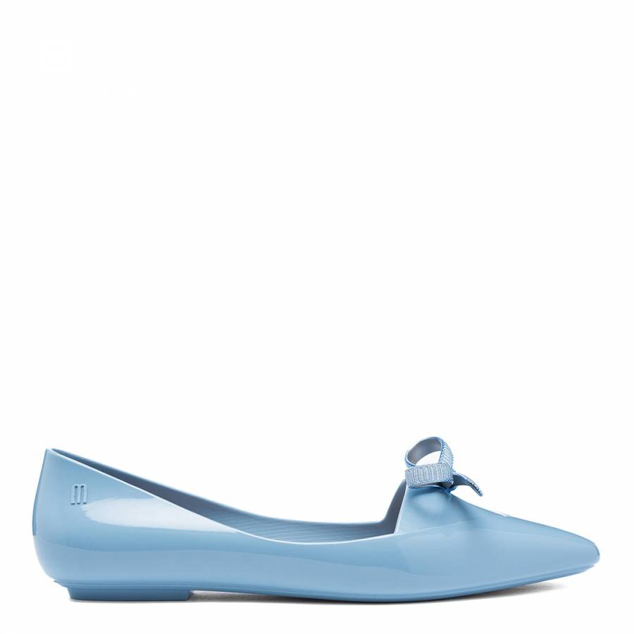 Image of Light Blue Pointy Shoes