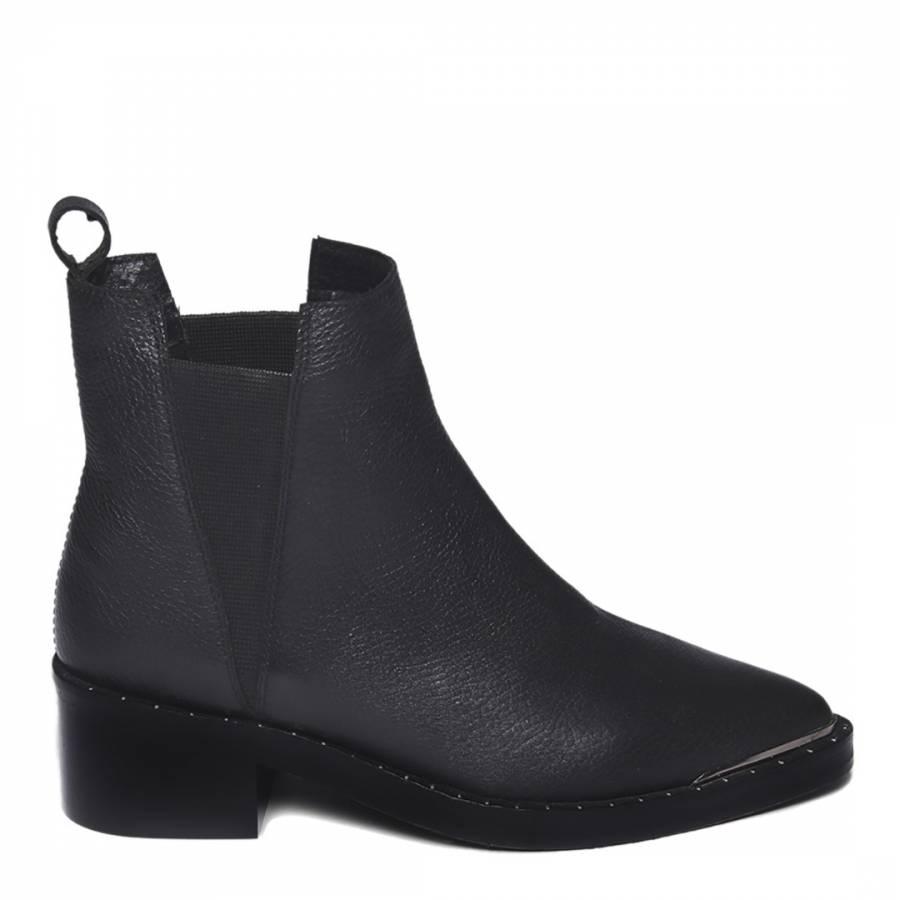 Black Studded Chelsea Boot - BrandAlley