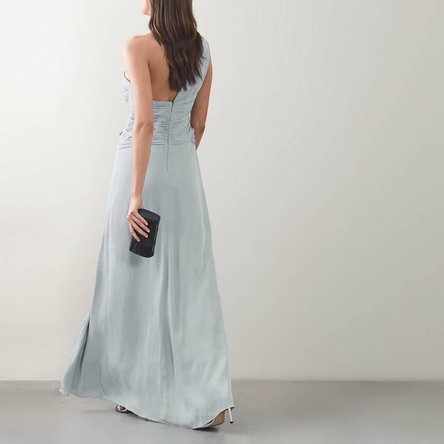 super cute entire collection factory outlets Light Blue Abigail Maxi Dress - BrandAlley