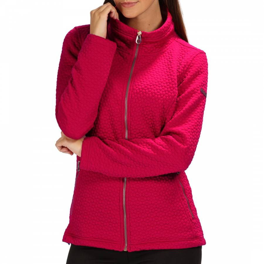 Dark Cerise Subira Fleece Brandalley