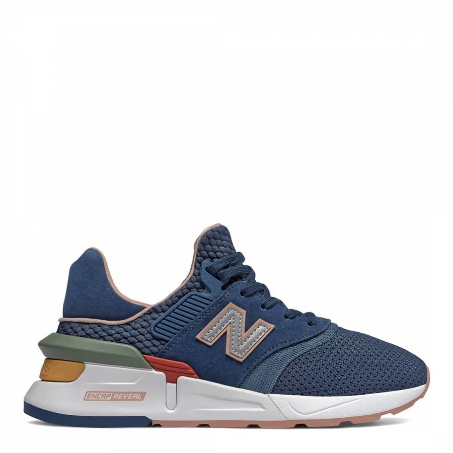 size 40 a9871 16fc9 New Balance Blue 997 Retro Sneaker