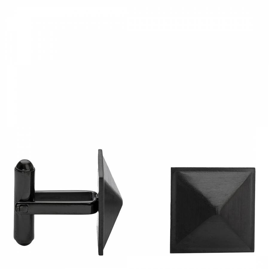 Image of Men's Black Pyramid Cufflinks