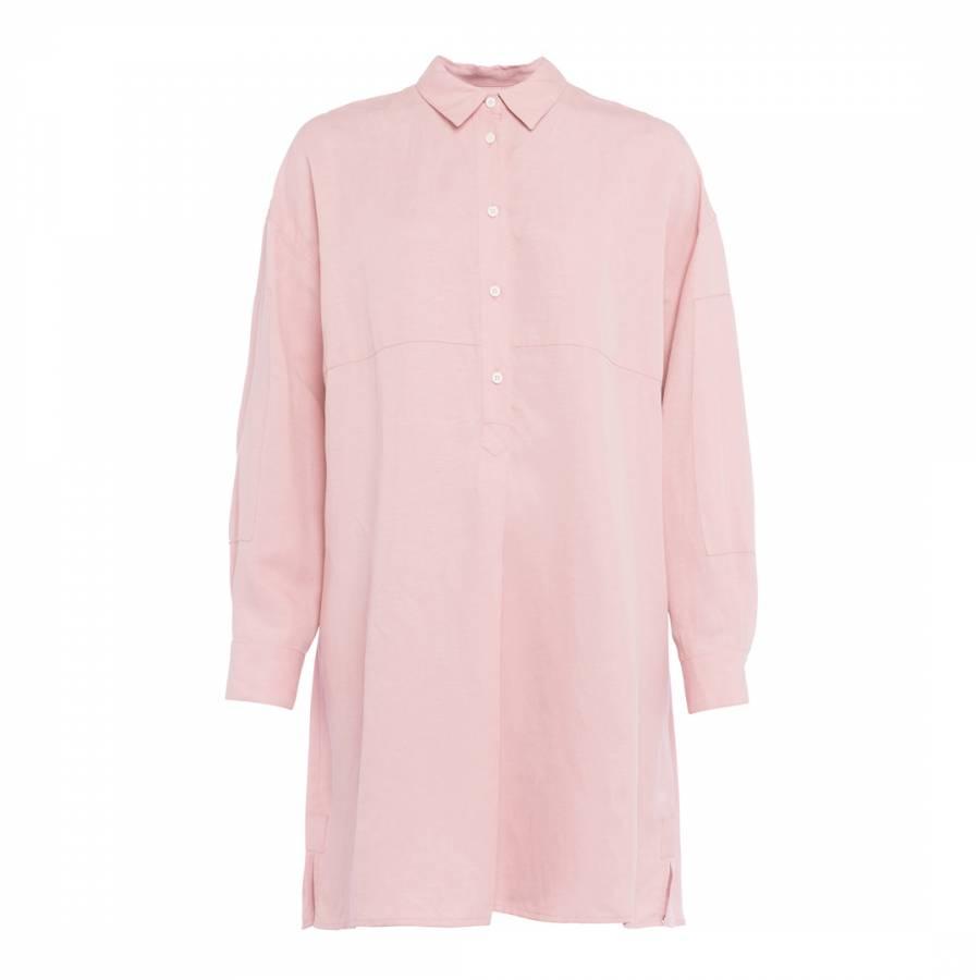 Caspia Linen Shirt Dress   Last Chance