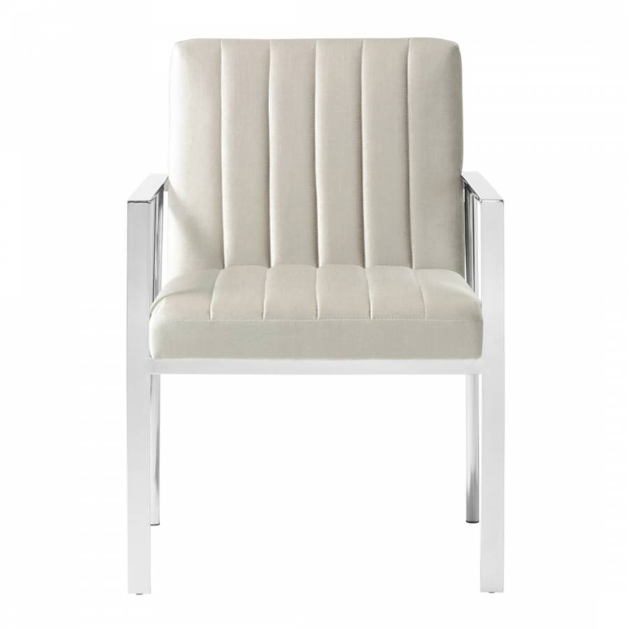 Peyton Grey Accent Chair BrandAlley