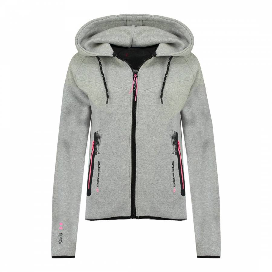 MEDIUM Fanatic Hooded Sweatshirt GREY