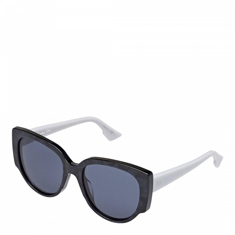 Image of Women's Black/Grey Dior Sunglasses 54mm
