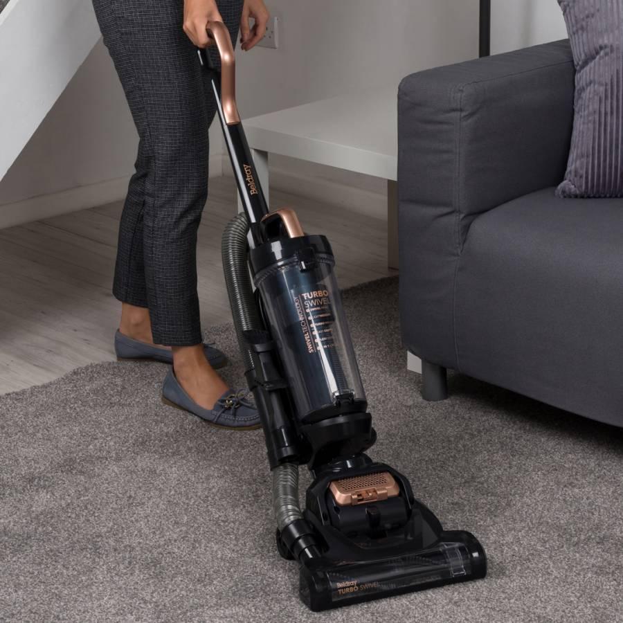 Rose Gold Turbo Swivel Vacuum Cleaner
