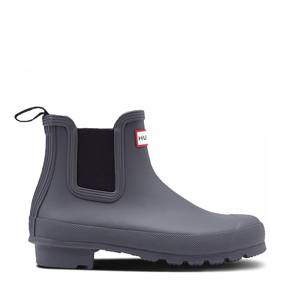 Image of Black/Grey Original Chelsea Boots