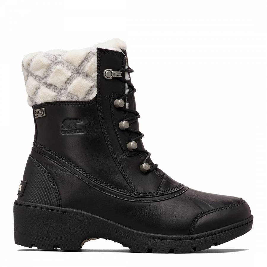 Image of Black Whislter Mid Snow Boots