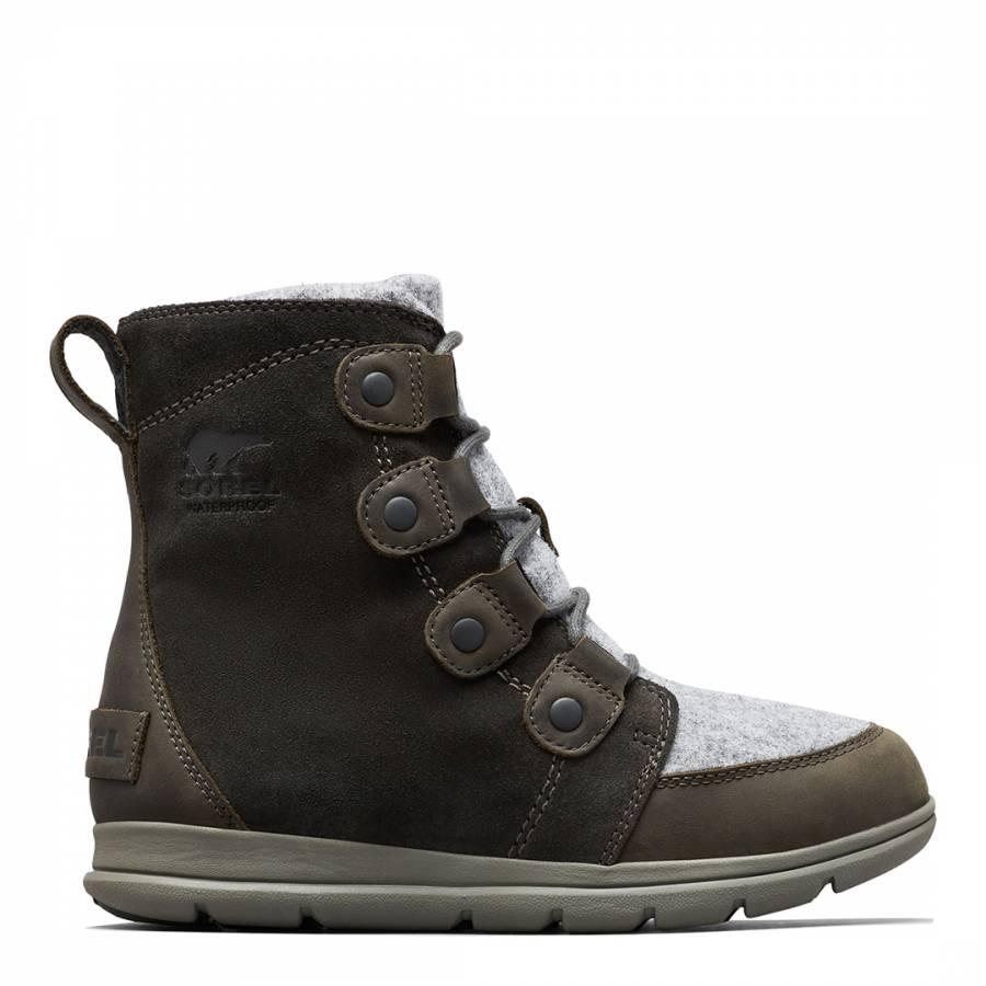 Image of Khaki Explorer Joan Boots