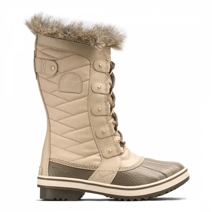 Image of Beige Tofino Snow Boots