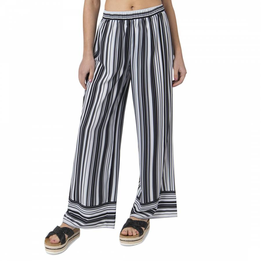 Image of Black/White Sovana Trousers