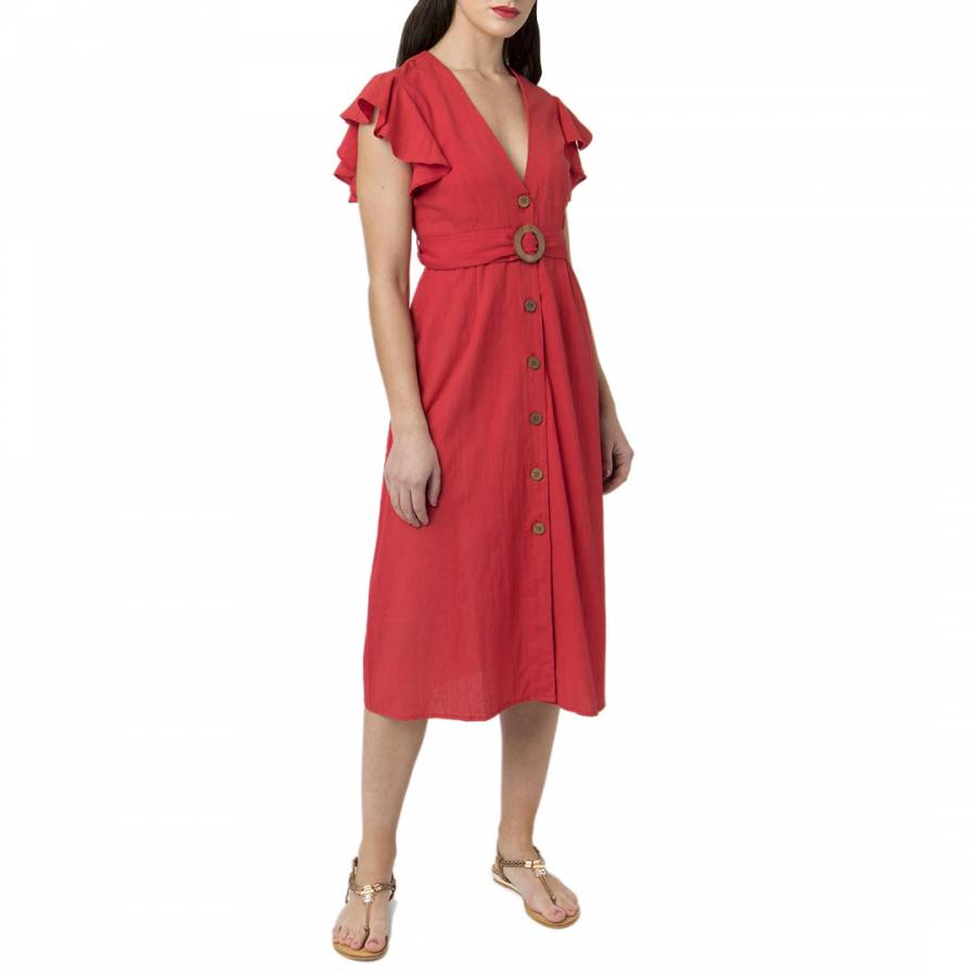 Image of Red Dune Dress