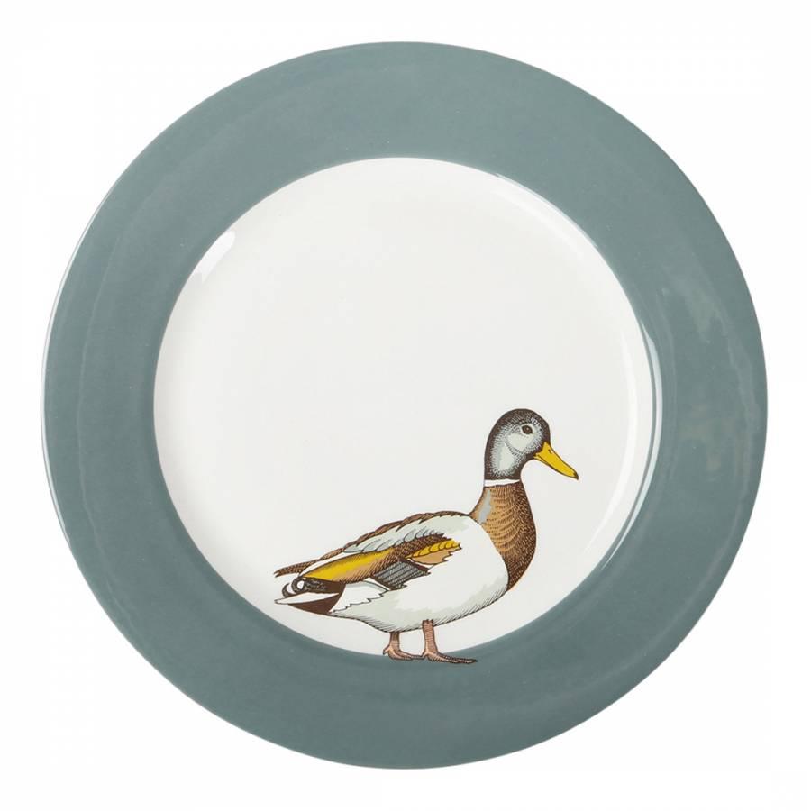 Image of Set of 6 Mallard Faunus Dinner Plates 28cm