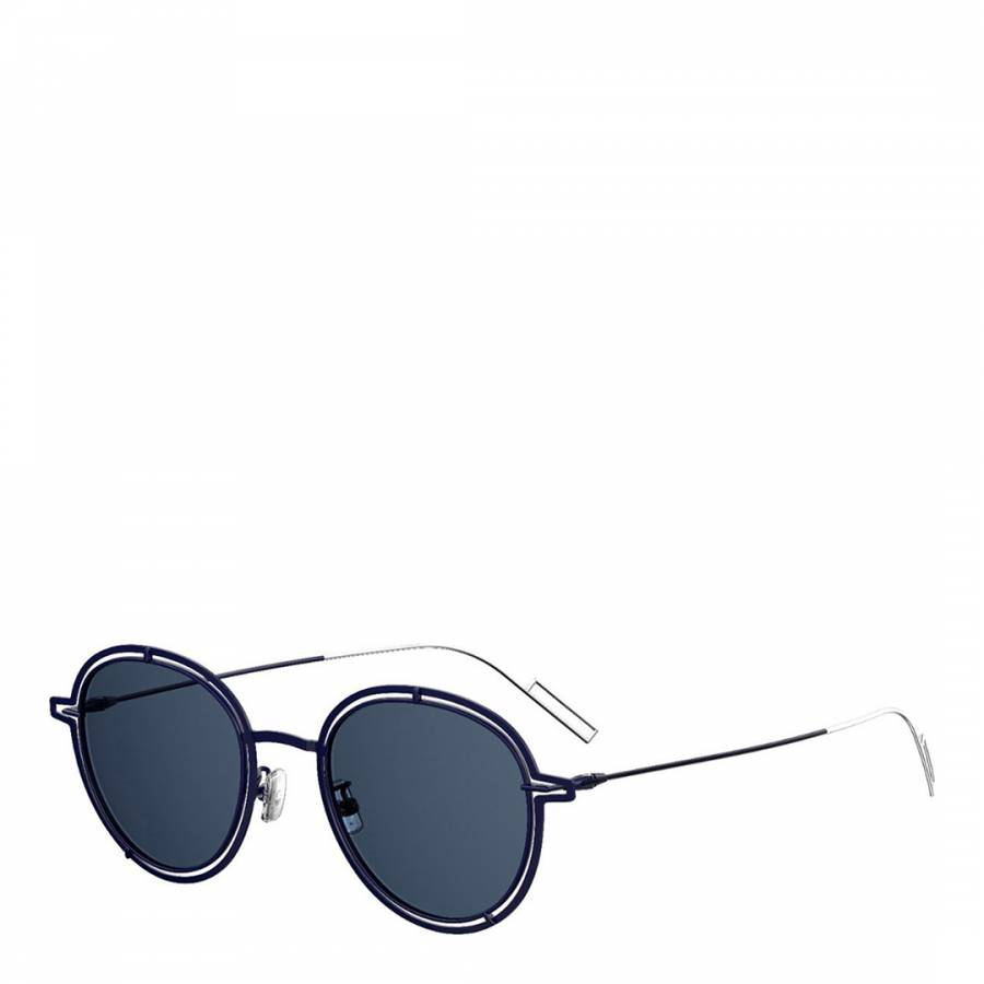 Image of Men's Blue Dior Sunglasses 51mm