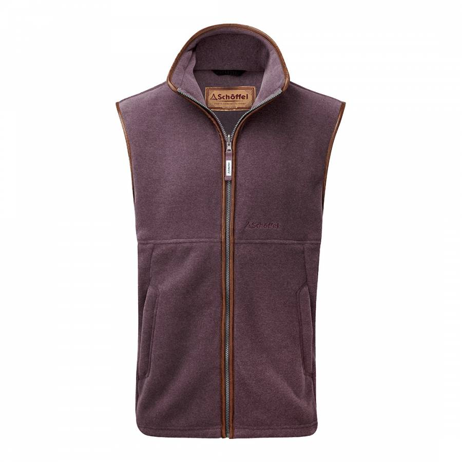 Oakham Fleece Gilet MinkHeather