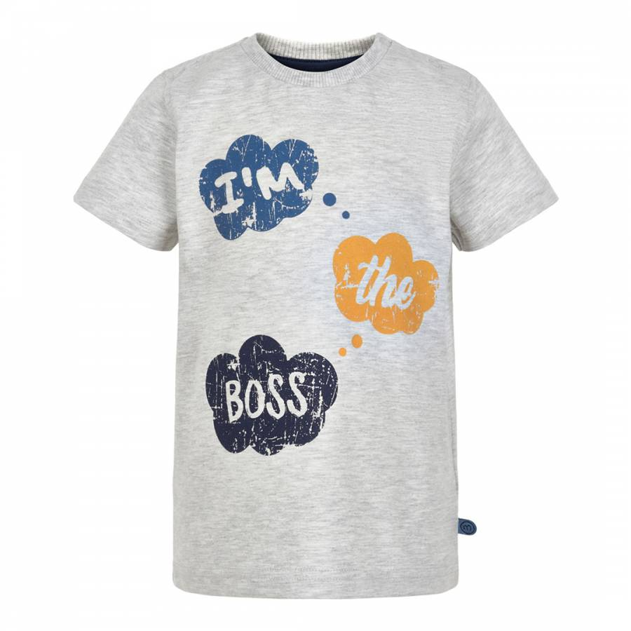 Minymo T-Shirt grey melange 80