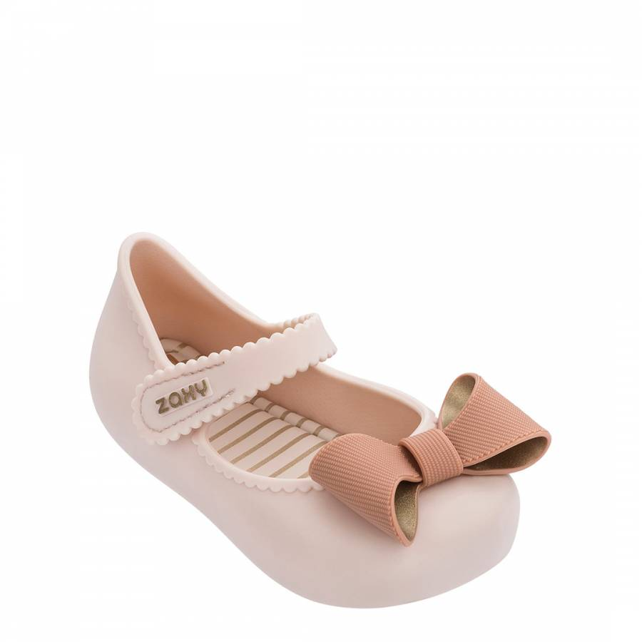 Image of Baby Ivory Classic Bow Shoes