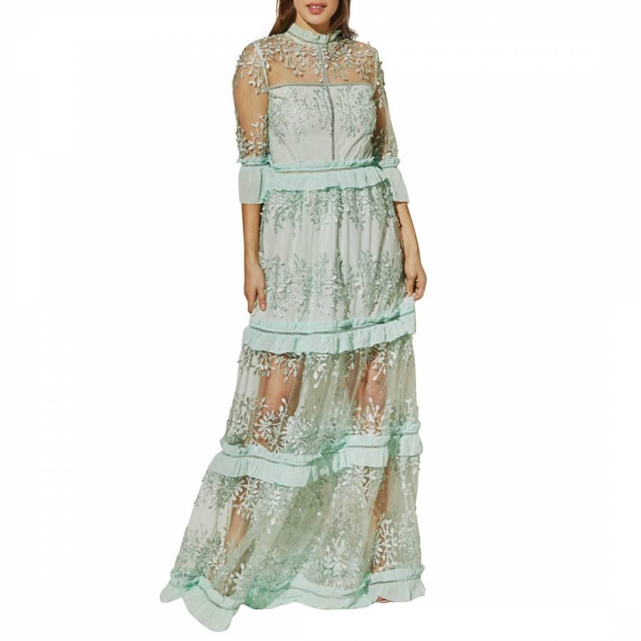 Image of Aqua Savannah Dress