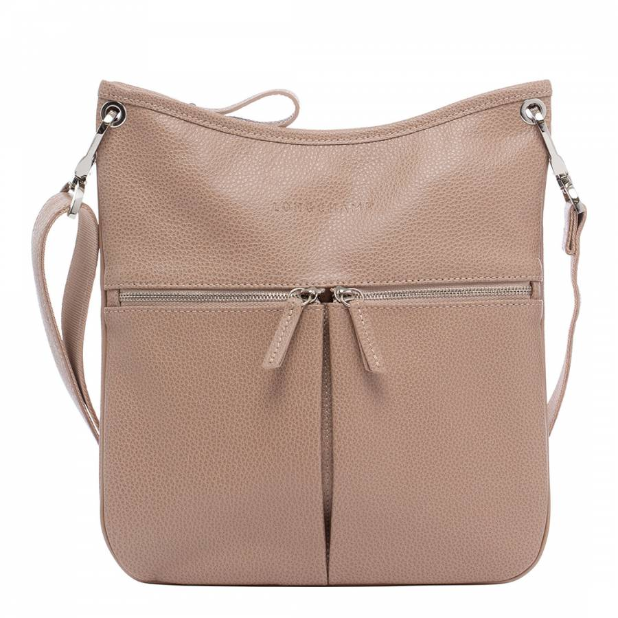 Greige Le Foulonne Crossbody Bag