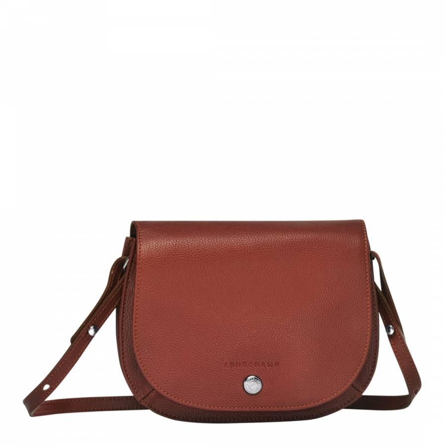 Chestnut Le Foulonne Crossbody Bag - BrandAlley