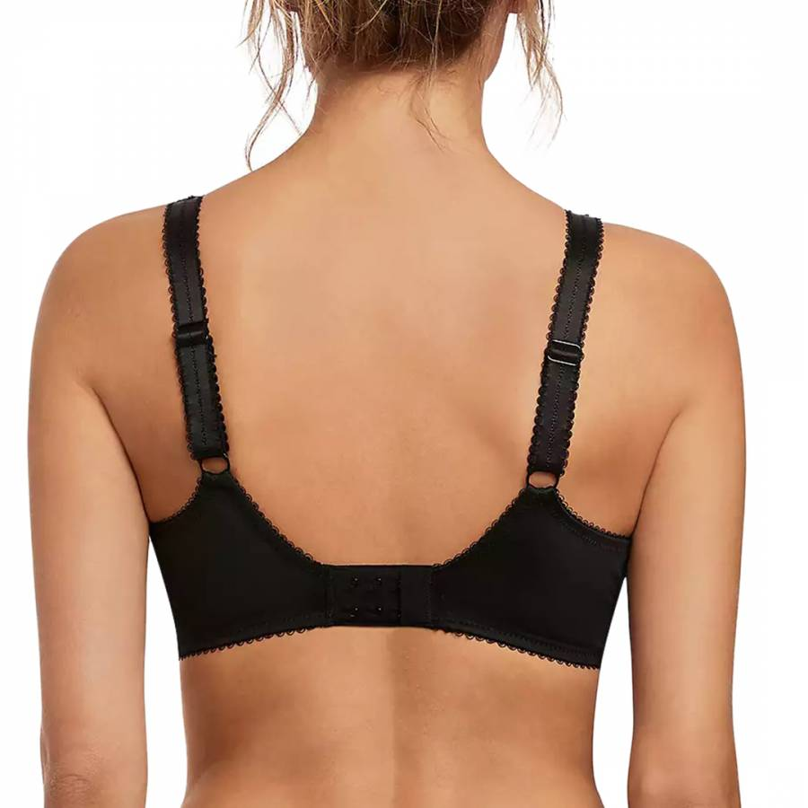Black Jacqueline Uw Full Cup Bra With Side Support