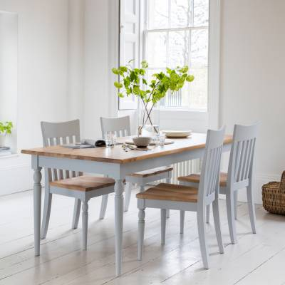 Grey Marlow Dining Table