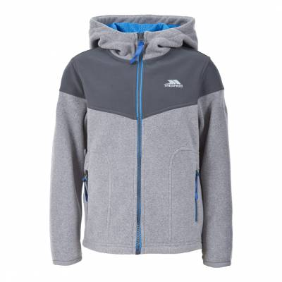adbdca338d Boy s Grey Blue Beiber Full Zip Fleece Hoodie