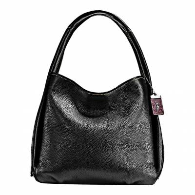91571b081b4 Black Floral Glovetanned Pebble Leather Bandit Hobo Bag In another basket +