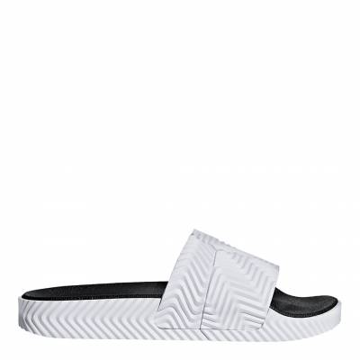 eb0c9c932eb3 White Adidas Originals by Alexander Wang Adilette Slides