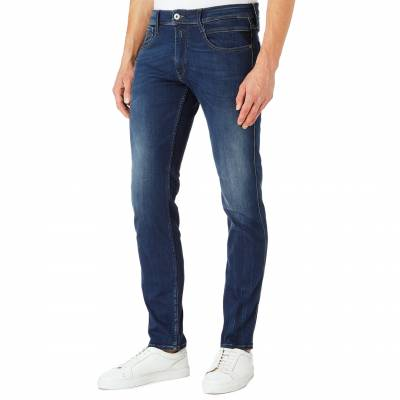 Blue Denim Anbass Slim Stretch Jeans