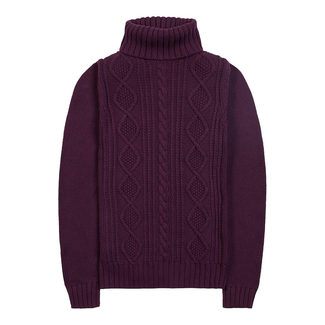Women's Damson Astley Roll Neck Knit