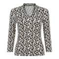 Hobbs London Black/Ivory Aimee Top