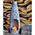 Adobe San Antonio Table Top Chimenea