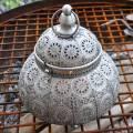Adobe Silver Kashmir Classic Lantern Small